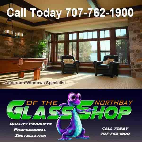 Anderson Window Repair – Call Chad, Glass Shop 707-762-1900